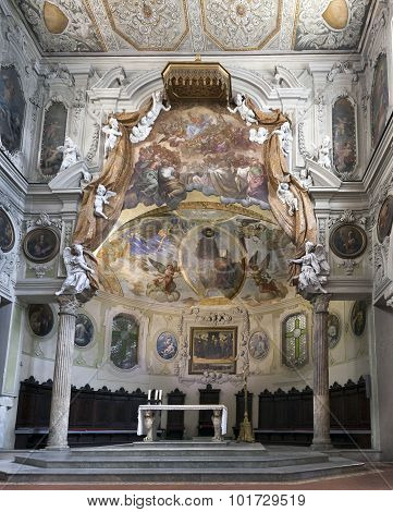 Santa Restituta Chapel In The Naples Cathedral