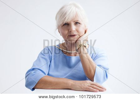Portrait Of Attractive Senior Woman.