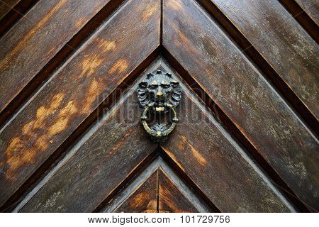 Wood Door Metal Handle