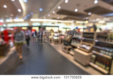 Airport shop