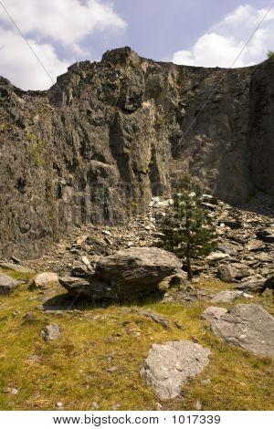 Quarry Rock Wales