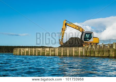 Digger Wharf Work