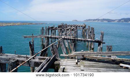 Old Broken Wharf jetty