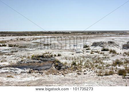 Etosha Salt Pan - Namibia