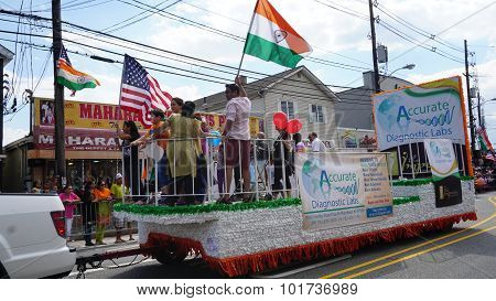 11th annual India Day parade in Edison, New Jersey