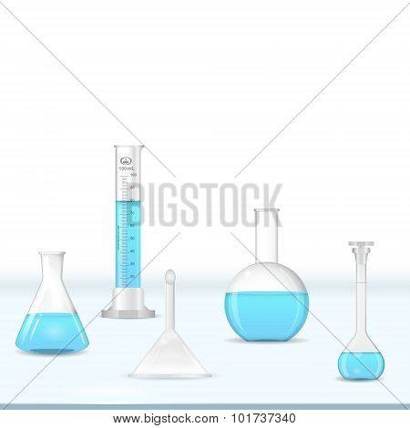 Lab Glassware Table
