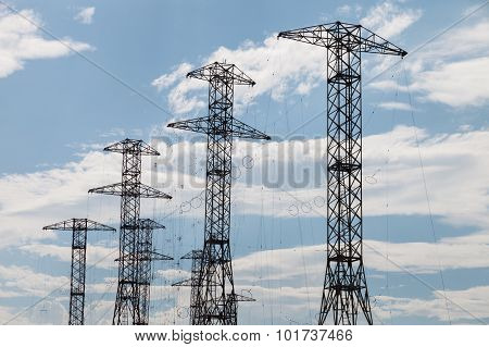 Masts With Radio Antennas