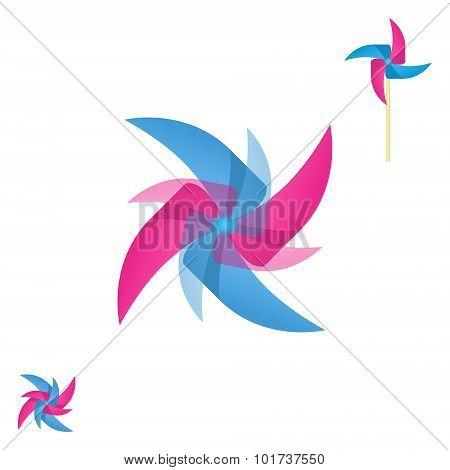Pinwheel Rotating Logo