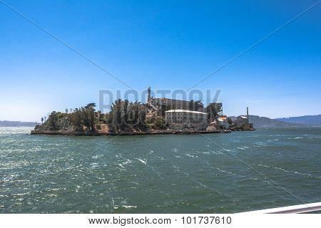 Alcatraz from the Bay, San Francisco
