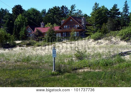 Mansion on a Beach