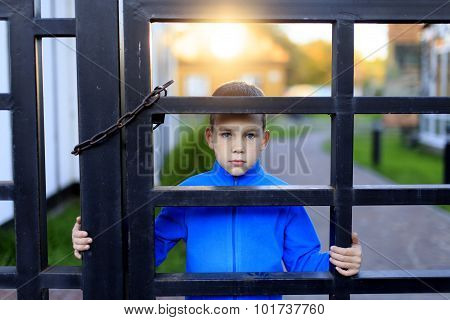 locked child
