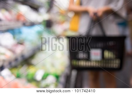 Super Market Bokeh As An Abstract Background  4