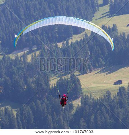 Amateur Paraglider
