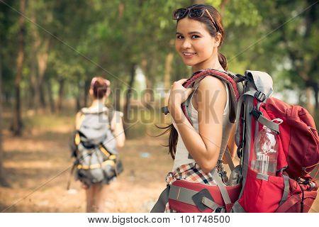 Attractive Traveler