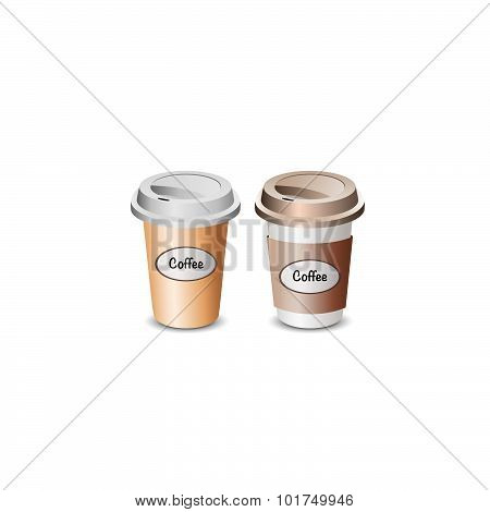 Illustration of cup coffee