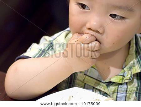 comer bebé