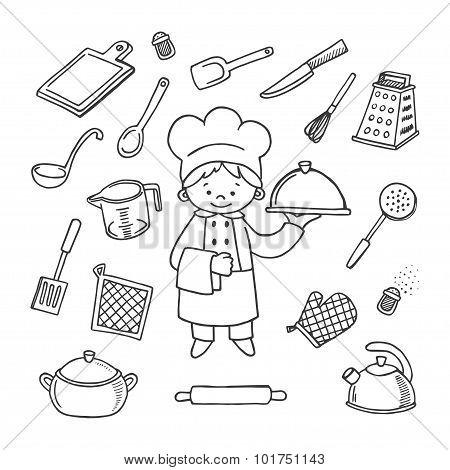 Cook's Tools Vector Set