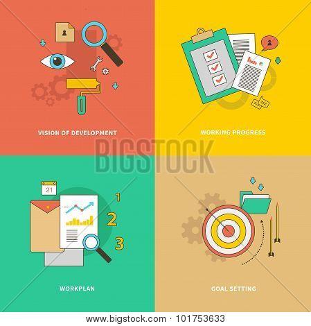 Vision of Development, Working Progress, Workplan