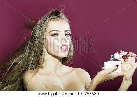 Woman With Perfume