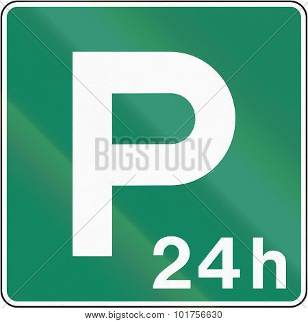 24H Parking Place In Canada