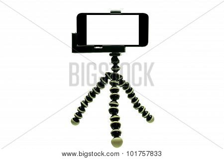 Octopus Tripod  With smart phone