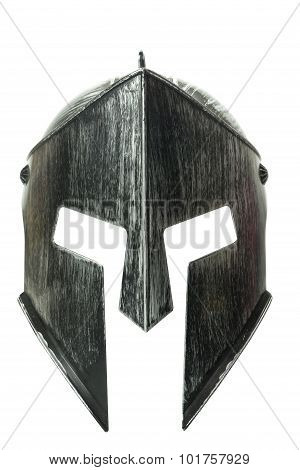 Spartan Helmet Isolated On White Background 2