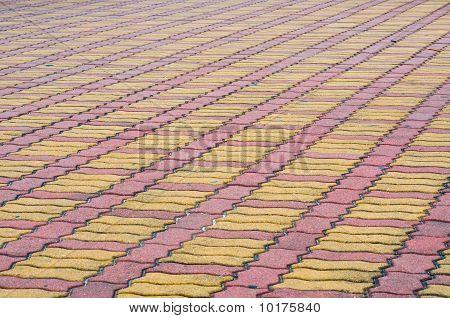 brick ground street