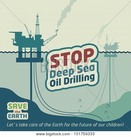 Stop Deep Sea Oil Drilling