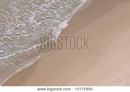 Close-up of beach