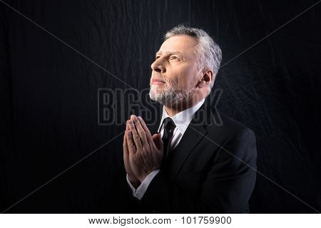 Concept for religion and prayer