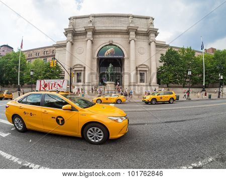 NEW YORK,USA - AUGUST 17,2015 :  The American Museum of Natural History in New York