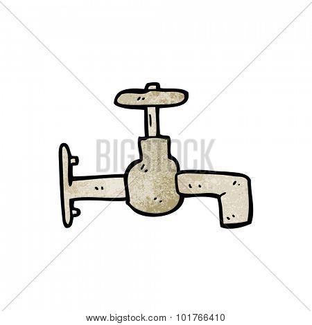 cartoon faucet