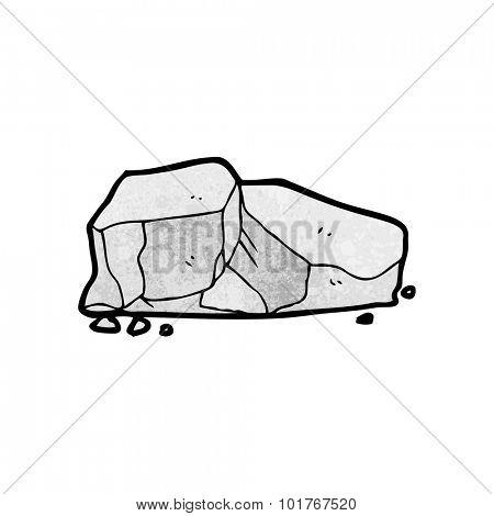 cartoon rocks