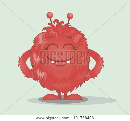 Good Red Furry Monsters 6