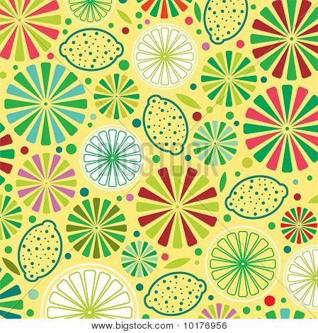 colorful citrus background