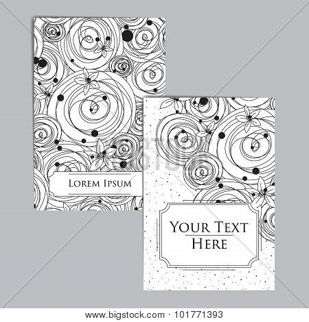 Booklet with Intricate Pattern