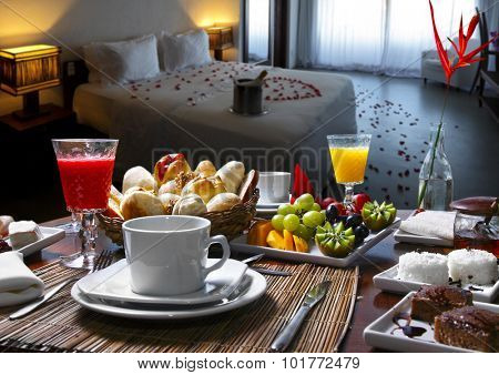 Breakfast room hotel