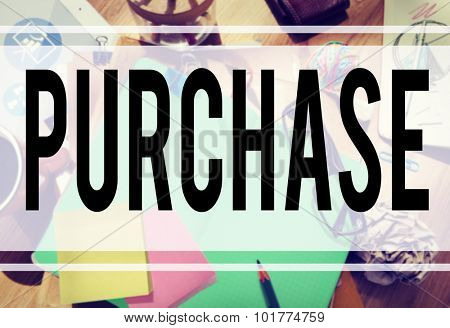 Purchase Marketing Commercial Cargo Pricing Concept