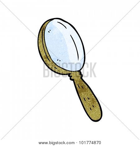 cartoon magnifying glass