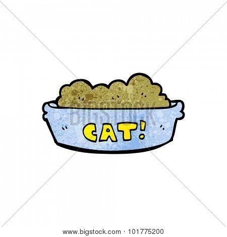 cartoon cat food