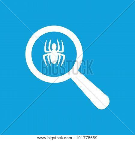 Spider examination icon, simple
