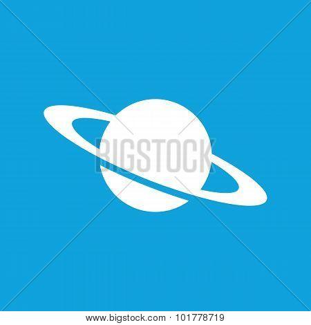 Saturn icon, simple