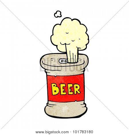 cartoon beer can