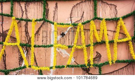Street Decorations In Alfama