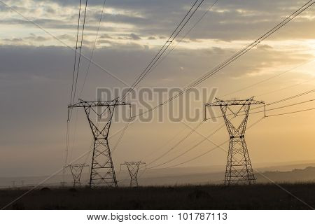 Electricity Cables Towers