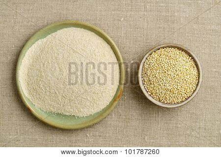 Quinoa And Quinoa Flour