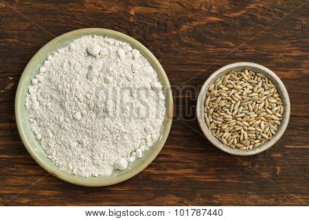 Oats And Oat Flour