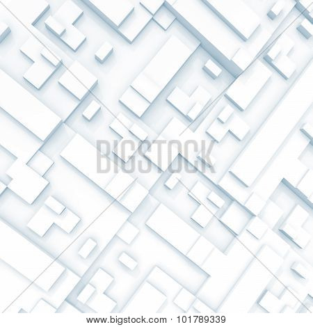 Abstract Square Digital 3D Background Texture