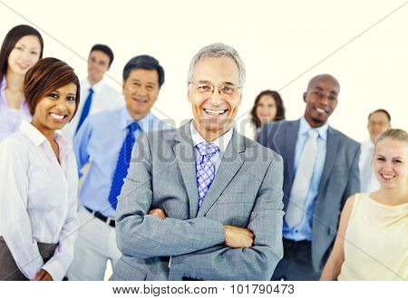 Business People Team Teamwork Cooperation Partnership Concept