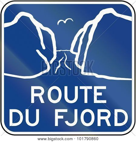 Fjord Route In Canada